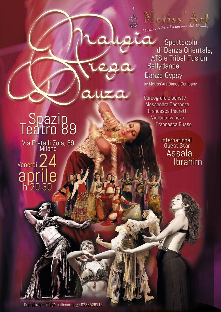 #spettacolo 24 aprile 2014 #danzaorientale #tribal #bellydance #gypsy #guest star @Assala Ibrahim