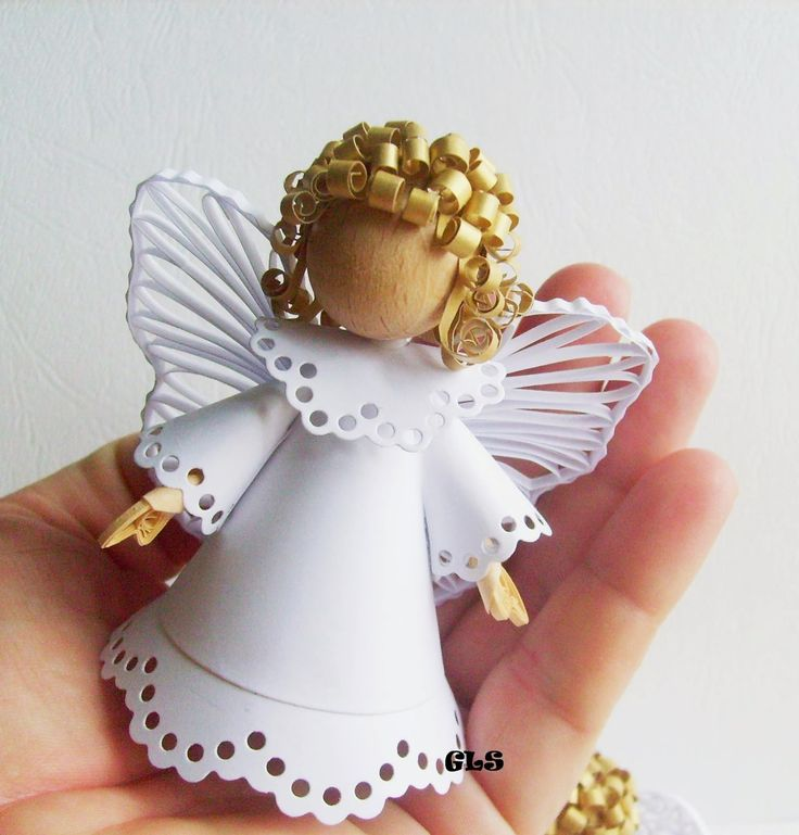 139 best Quilling: Angels images on Pinterest