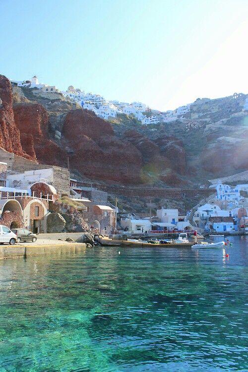 Santorini...#BohoBeach