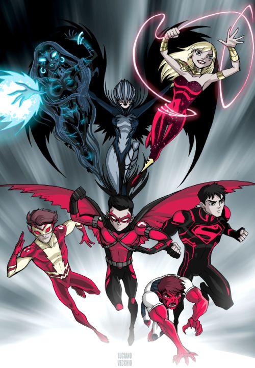 'New 52' Teen Titans - Luciano Vecchio