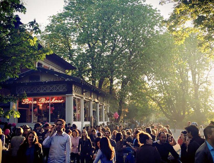 Bars + restaurants in Paris
