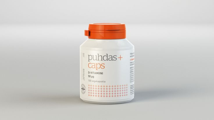 Branding & Package design for nutritional supplement brand Puhdas+