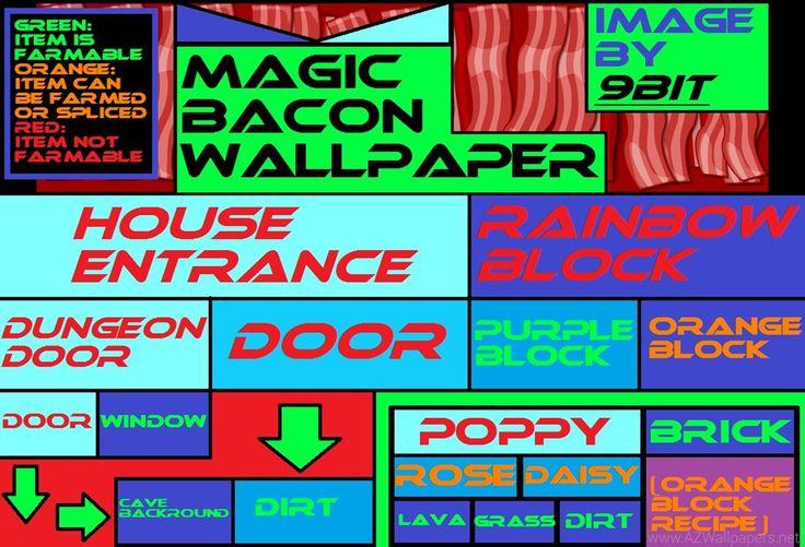 Magic Bacon Wallpapers Growtopia Wiki Wikia Desktop Background