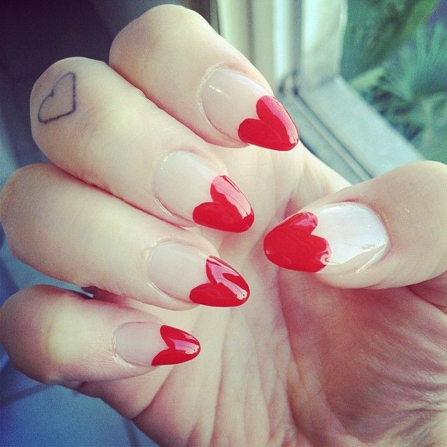 #stiletto #nails #heart
