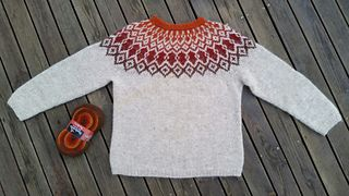 This pattern is available in English and in Swedish.