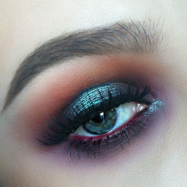 Yesterdaze eyes ✨ Eyeshadows used are @sugarpill Flamepoint, @sugarpill Lumi, @narsis...   Use Instagram online! Websta is the Best Instagram Web Viewer!