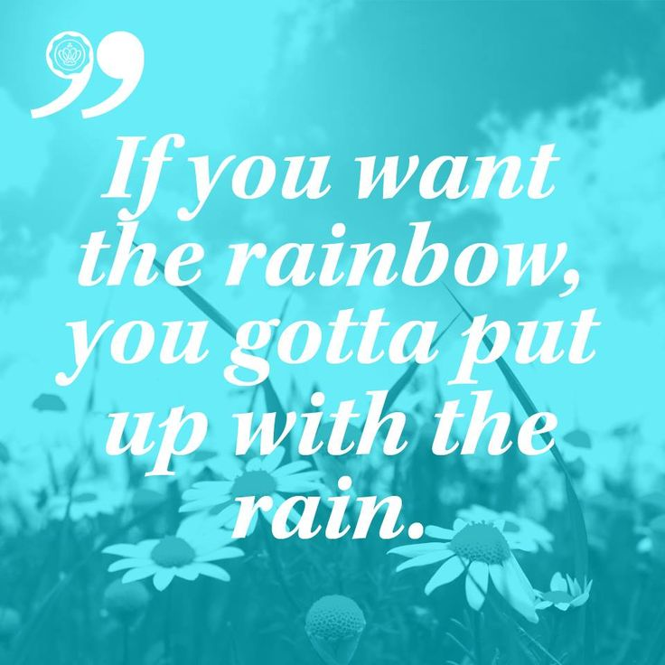 Cute Rainy Day Quotes: Rainy Days/Rainbows/Sunshine Images On