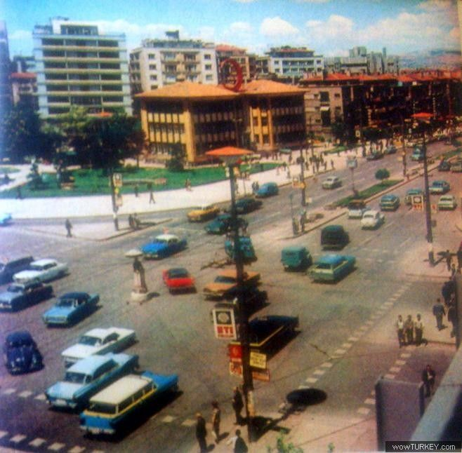 Eski Ankara Kızılay 50ler.
