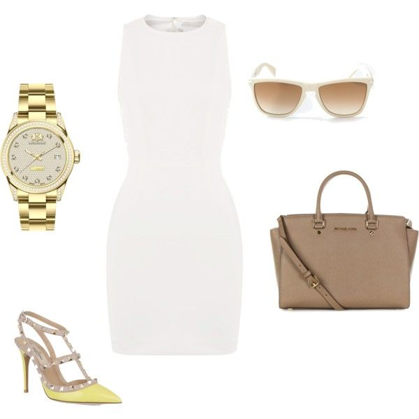 """yellow"" by marta-bognar on Polyvore"