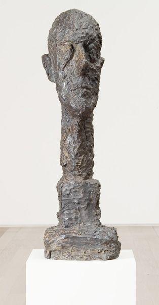Grande tête, 1960, Alberto Giacometti