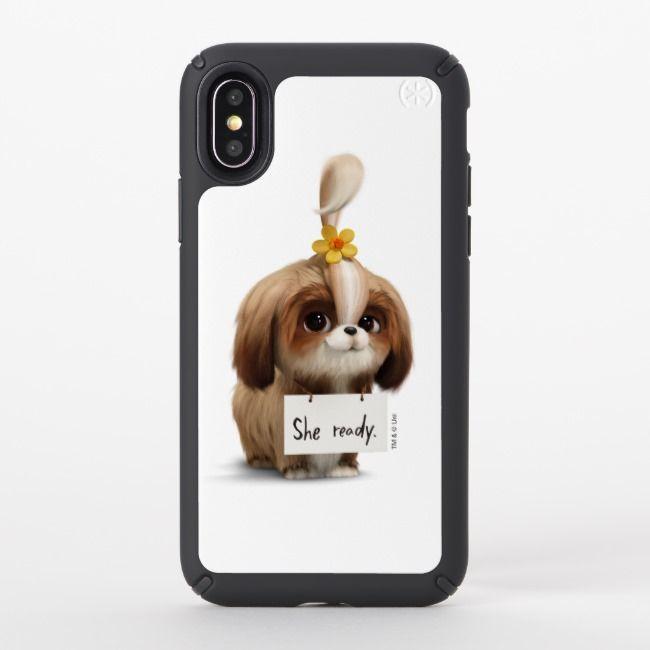 Secret Life Of Pets Daisy She Ready Speck Iphone Case Zazzle