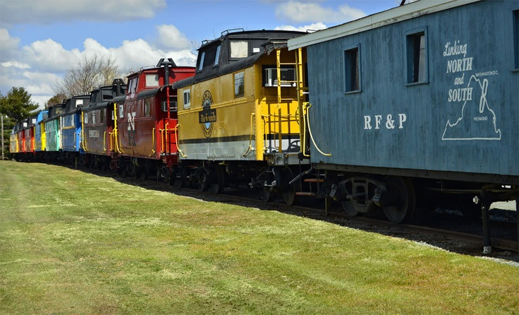 Red Caboose Motel Deal of the Day | Groupon near lancaster, pa. Also has a train museum where you can operate the controls of a steam engine. Little boys would love this!