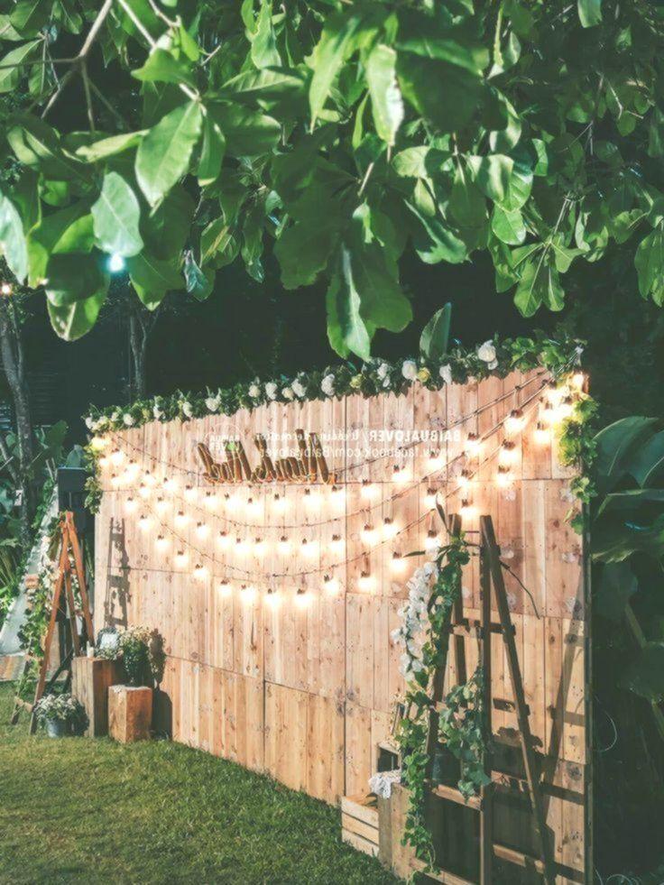 49 Cheap Backyard Wedding Decor Ideas Weddingideas Simpleweddingideas Weddin Backyard Wedding Decorations Cheap Backyard Wedding Outdoor Wedding Decorations