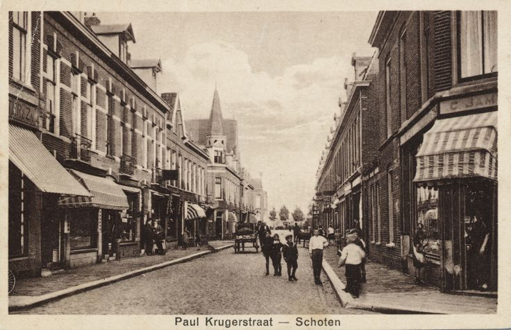 Paul Krugerstraat. Schoten