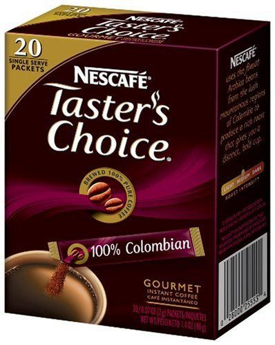 Nescafe Tasters Choice 100% Columbian Instant Coffee * Read more reviews of the product by visiting the link on the image.