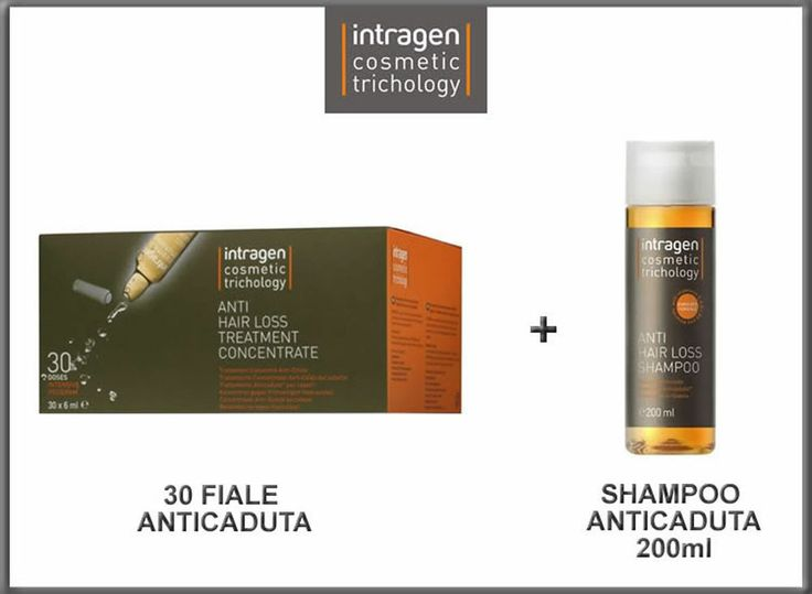 # 30 FIALE ANTICADUTA + SHAMPOO 200ML Intragen Cosmetic Trichology Revlon