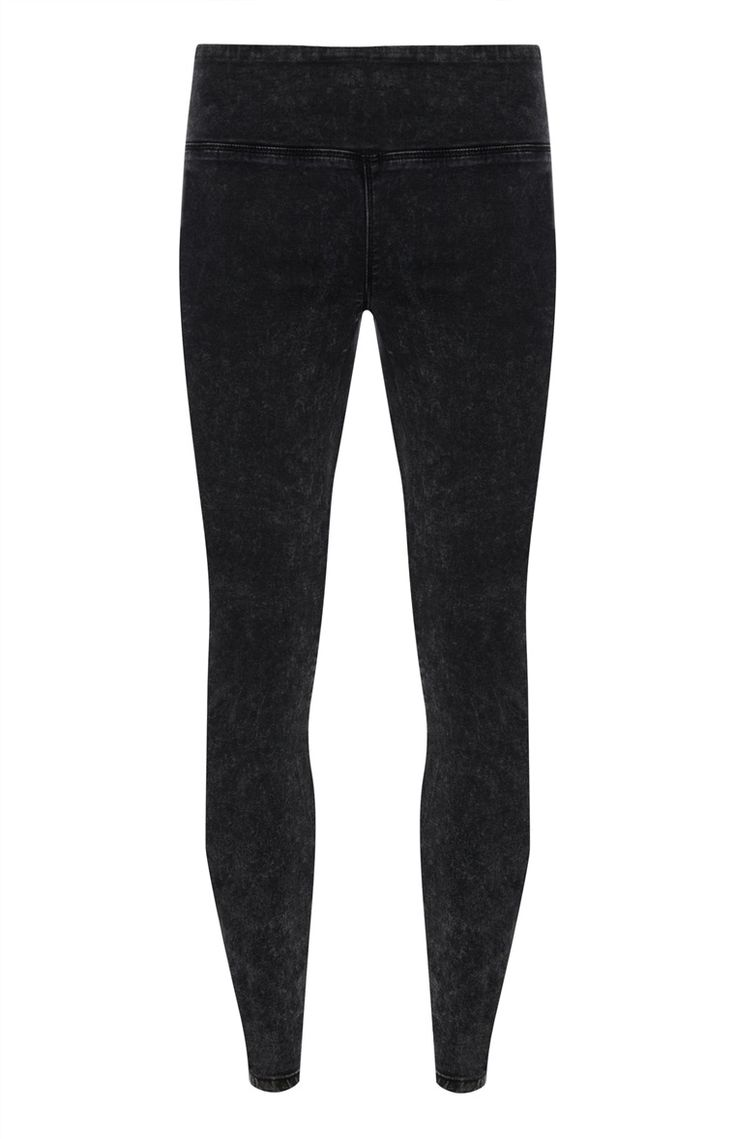 Primark - Zwarte denim stretchlegging