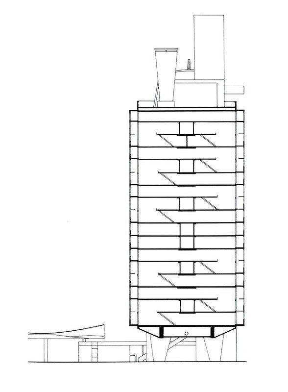 1947 - Citée Radieuse de Marseille - Le Corbusier