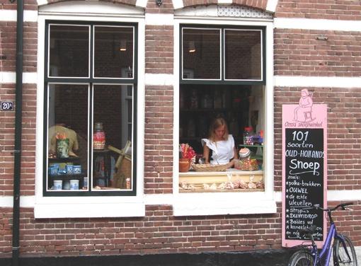 Oma's snoepwinkeltje in Veere