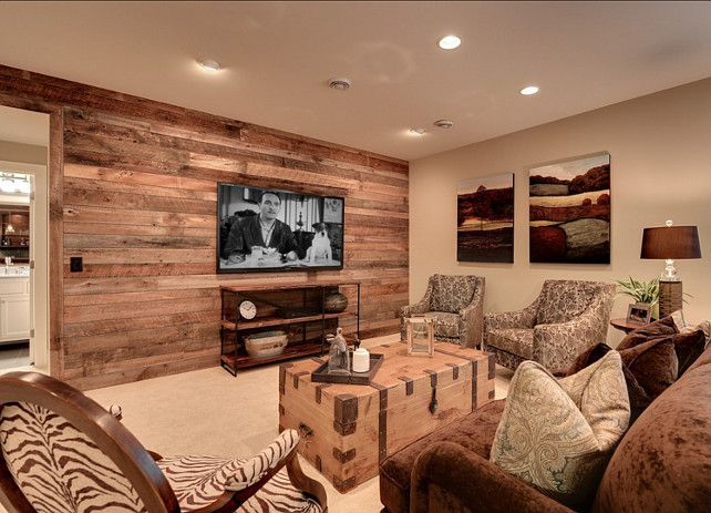17 best ideas about rustic basement on pinterest rustic man cave rustic basement bar and - Basement design ideas photos ...