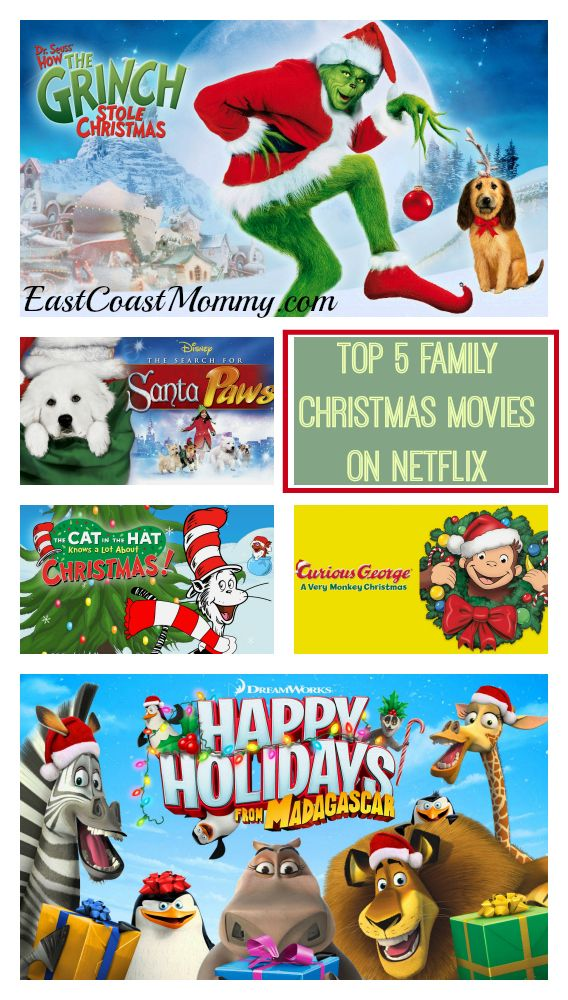 Top Family movies on Netflix. Great list!!!!