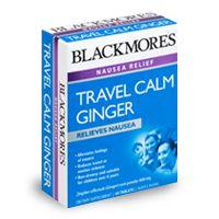 Travel Calm Ginger - Nausea Relief - Blackmores
