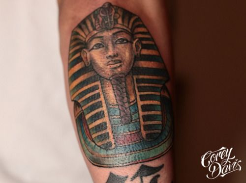 Black And Tan King Tut Tattoo Ideas Charles Spaniel Puppy
