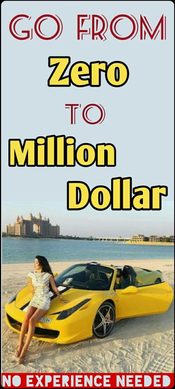 MACHEN SIE GELD ONLINE – LERNEN SIE, WIE SIE VON NULL ZU $ 10K … $ 100K … UND MILLIONEN DOLLAR NUR MIT $ 1 GEHEN!