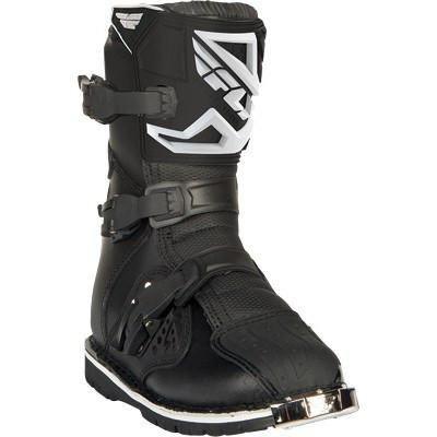FLY Maverik Dual Sport ATV Boots Black (7 - 13)