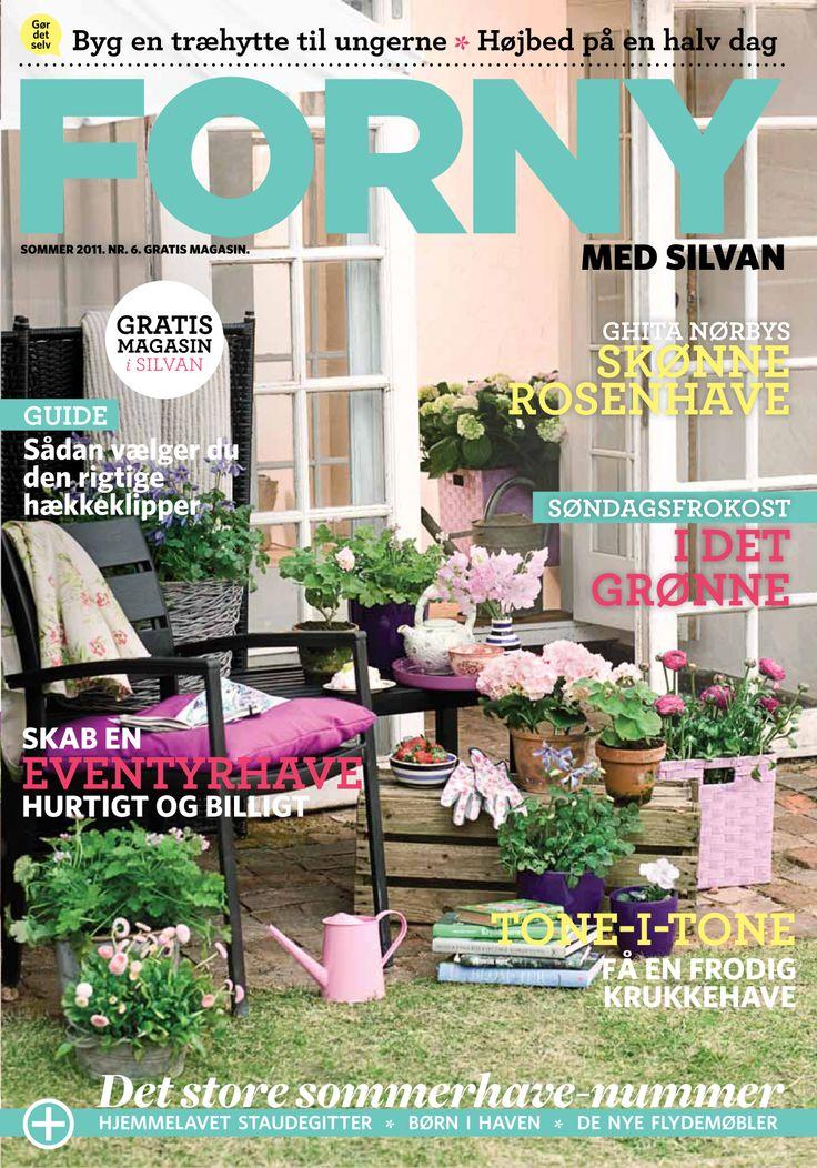 FORNY med Silvan, magasin nummer 6, sommer 2011