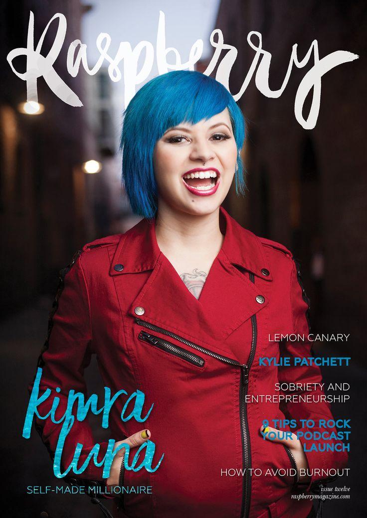 Raspberry Magazine Issue Twelve with Kimra Luna