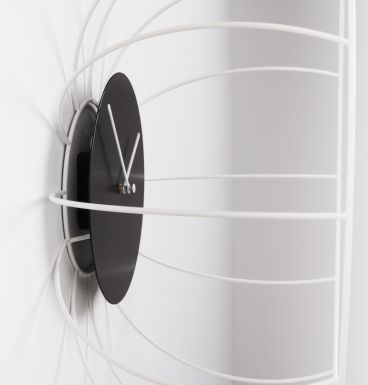 HEIMATDESIGN SHOP - Uhr O´Wire weiß 1471