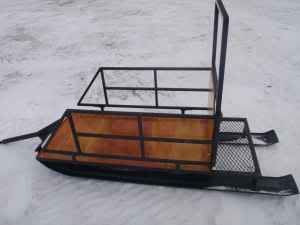 1000 images about snow transport on pinterest sled for Ice fishing snowmobile