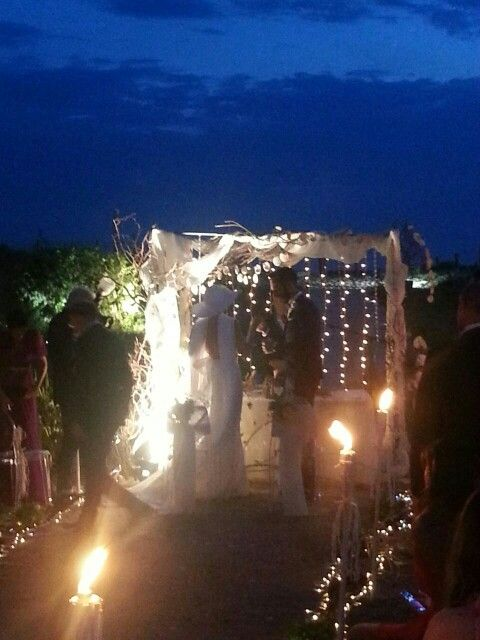 My wedding on the beach...