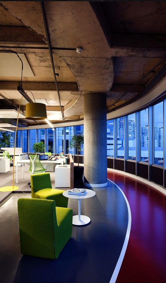 1127 best corporate images on pinterest offices office for Well designed office spaces