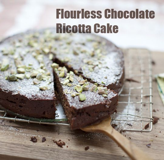 Pinecone Camp: Flourless Chocolate Ricotta Cake