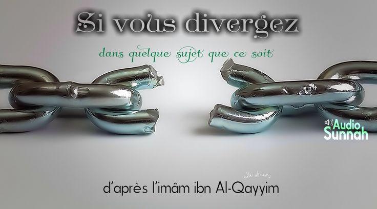 Ce petit audio arabe/français est une exhortation tirée des paroles du grand savant ibn Al-Qayyim qu'Allah lui fasse grandement miséricorde, traitant de l'obligation de renvoyer nos désac cords, nos divergences, nos discordes au jugement contenu dans...