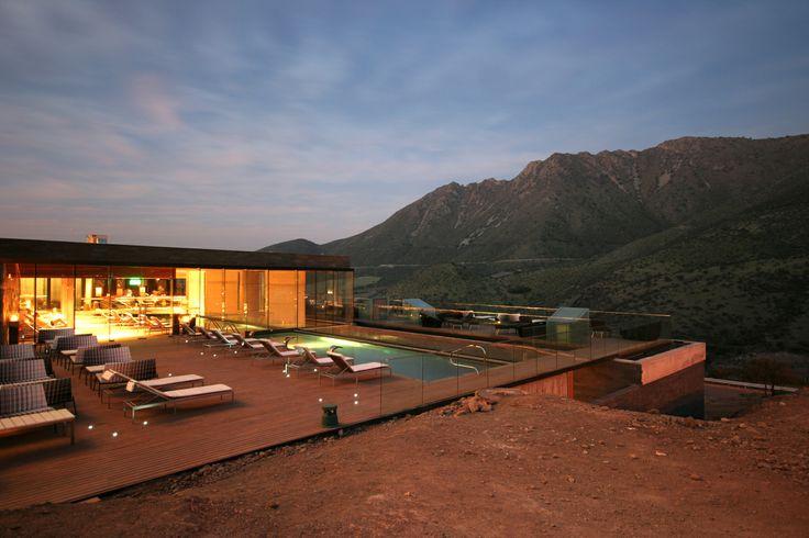 Spa Hotel del Valle - Rinconada / Estudio Larraín © Rodrigo Larraín Illanes