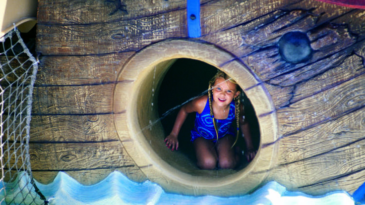 Cool off with the best water parks near NYC this summer, complete with raft rides, water slides and wading pools for your little ones