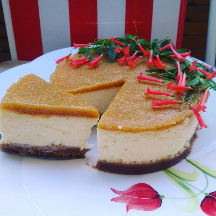 The House Gourmet — Peach Cheesecake/ Şeftalili Cheesecake /...