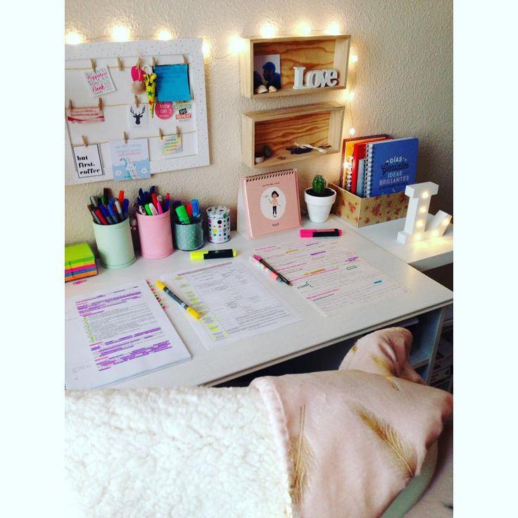 15.01.17 ¡Turno de tarde! Hoy llevo todo el día con la mantita en la silla del escritorio, que hace muuuuucho frío!!! Sigo con la constitución y haciendo test, poco a poco y día tras día las cosas van cogiendo su propio ritmo ☺️ ¡A por la tarde! Besazoooo  #oposiciones #estudiar #studyhard #stationery #oposicionesjuntadeandalucia #aportodas #yopuedo #unaplazaesmia #opovida #opozulo #papeleríabonita