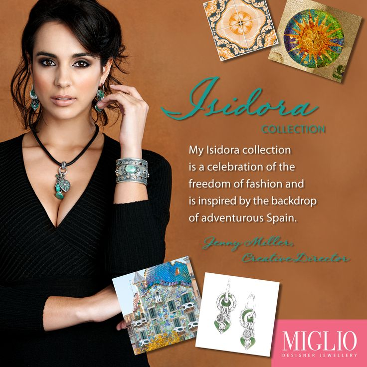 Enjoy the little things with Miglio Designer Jewellery's Isidora Collection.