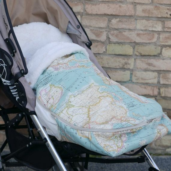 Universal footmuff Pattern and Stroller Bag by ColoursforBaby