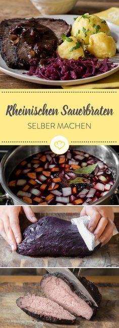 Sauerbraten: Wie du ihn einlegst und schön saftig schmorst