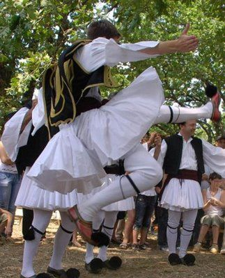 Tsamiko is a popular traditional folk dance of Greece