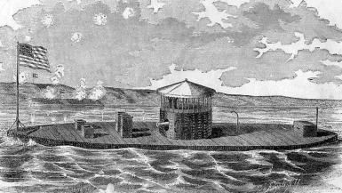 USS Monitor - American Civil War Ironclad