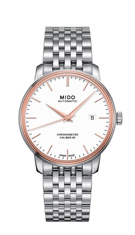 Mido Baroncelli Chronometer Si M027.408.41.011.00