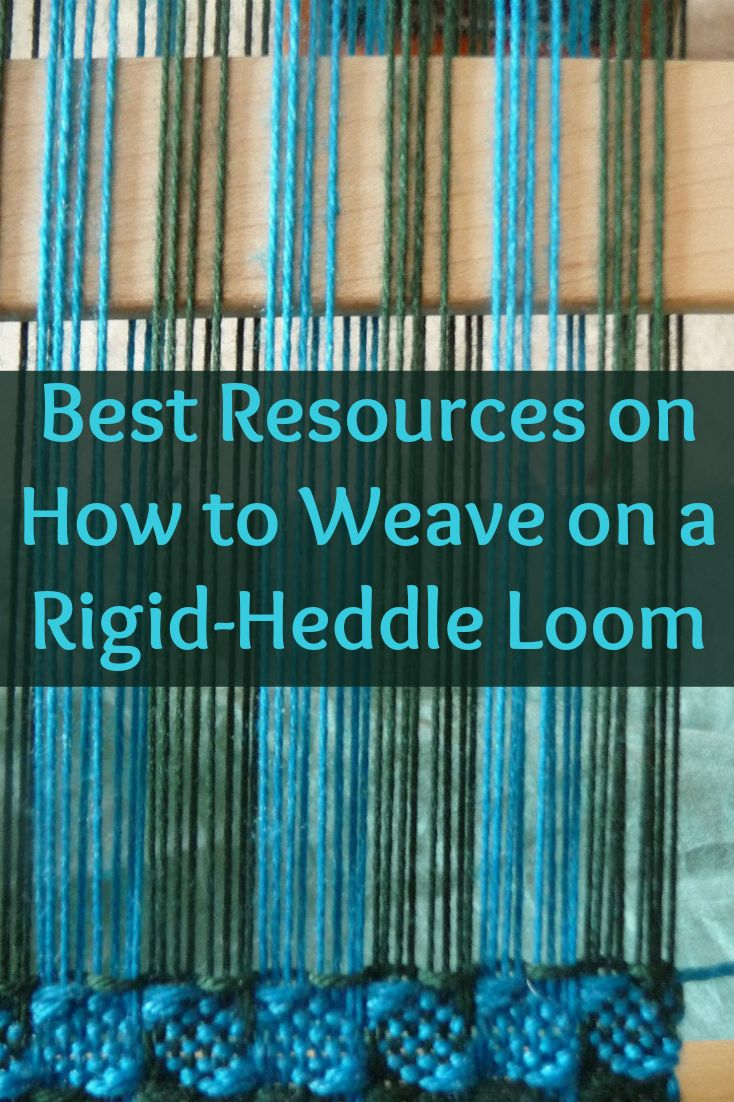 You can now learn how to weave on a rigid-heddle loom with these 4 exclusive products!