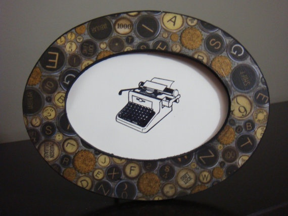 One of A Kind Vintage Typewriter Keys by SassyPlanetBoutique, $10.00
