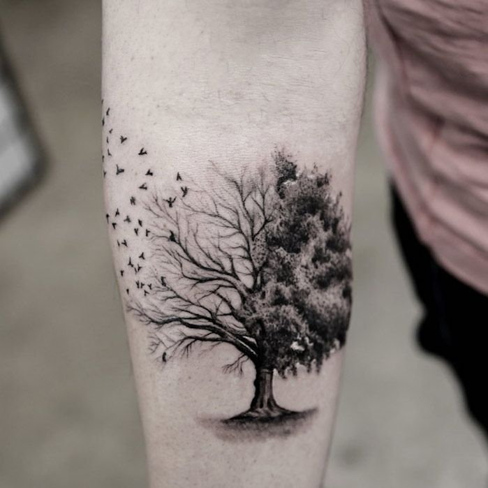 ▷ 1001 + Ideas for Tree of Life Tattoo to Inspire and Borrow